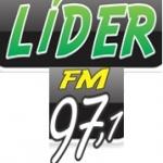 Logo da emissora Rádio Líder 97.1 FM