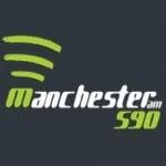 Logo da emissora Rádio Manchester 590 AM