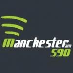Logo da emissora R�dio Manchester 590 AM