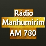 Logo da emissora Rádio Manhumirim 780 AM