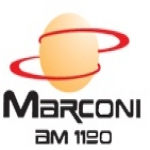 Logo da emissora Rádio Marconi 1190 AM