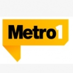 Logo da emissora R�dio Metr�pole 1290 AM 101.3 FM