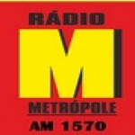 Logo da emissora R�dio Metr�pole 1570 AM