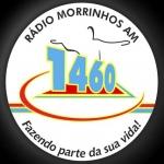 Logo da emissora Rádio Morrinhos 1460 AM