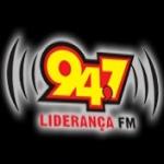 Logo da emissora R�dio Lideran�a 94.7 FM