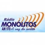 Logo da emissora R�dio Mon�litos 970 AM