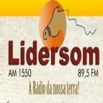 Logo da emissora R�dio Lidersom 1550 AM