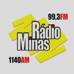 Logo da emissora Rádio Minas 1140 AM