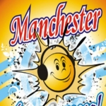 Logo da emissora R�dio Manchester 93.3 FM