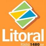 Logo da emissora R�dio Litoral 1320 AM