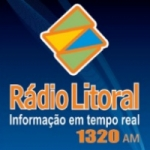 Logo da emissora Rádio Litoral 1320 AM