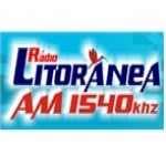 Logo da emissora R�dio Litor�nea 1540 AM