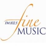 Logo da emissora Radio Fine Music 102.5 FM 2MBS