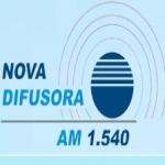 Logo da emissora R�dio Nova Difusora 1540 AM