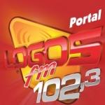Logo da emissora R�dio Logos 102.3 FM