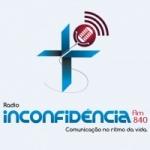 Logo da emissora R�dio Nova Inconfid�ncia 840 AM
