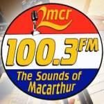 Logo da emissora Radio 2MCR 100.3 FM