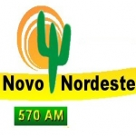 Logo da emissora R�dio Novo Nordeste 570 AM
