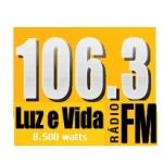 Logo da emissora Rádio Luz e Vida 106.3 FM