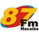 Logo da emissora R�dio Maca�ba 87.9 FM