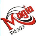Logo da emissora R�dio Magia 90.9 FM