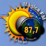 Logo da emissora R�dio M�gica 87.7 FM
