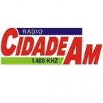 Logo da emissora Rádio Cidade 1480 AM