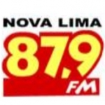 Logo da emissora R�dio Nova Lima 87.9 FM