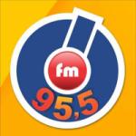 Logo da emissora Rádio Ótima 95.5 FM