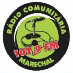 Logo da emissora Rádio Marechal 107.9 FM