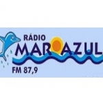 Logo da emissora R�dio Mar Azul 87.9 FM