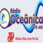 Logo da emissora R�dio Oce�nica 670 AM