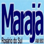 Logo da emissora R�dio Maraj� 660 AM