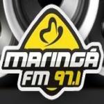 Logo da emissora Rádio Maringá 97.1 FM