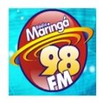 Logo da emissora R�dio Maring� 98.7 FM