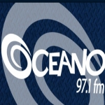 Logo da emissora R�dio Oceano 97.1 FM