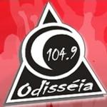 Logo da emissora Rádio Odisséia 104.9 FM