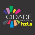 Logo da emissora Rádio Cidade Oeste 87.9 FM