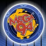 Logo da emissora Rádio Mega 94 FM