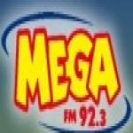 Logo da emissora R�dio Mega 92.3 FM