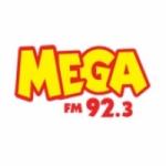 Logo da emissora Rádio Mega 92.3 FM