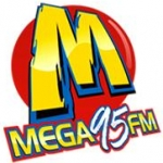 Logo da emissora Rádio Mega 95 FM