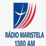 Logo da emissora Rádio Maristela 1380 AM