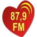 Logo da emissora Rádio Melodia Conquista 87.9 FM
