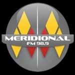 Logo da emissora R�dio Meridional 98.9 FM