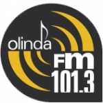 Logo da emissora R�dio Olinda 101.3 FM