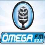 Logo da emissora R�dio �mega 93.9 FM