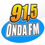 Logo da emissora Rádio Onda 91.5 FM