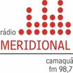 Logo da emissora Rádio Meridional 98.7 FM