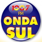 Logo da emissora R�dio Onda Sul 100.7 FM
